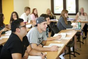 Saint Rose Students Engaged Learning