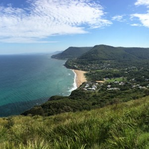Australia study abroad, view overlooking water