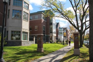 Campus along Madison Avenue