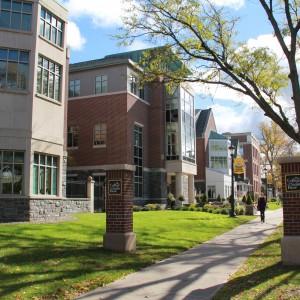 Campus along Madison Avenue