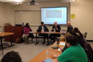 Distingushed Leadership Panel Presenting