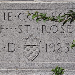 The College of Saint Rose building sign