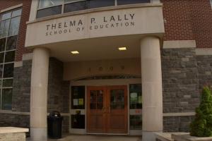 Lally School of Education entrance way