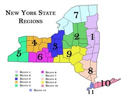 Map Of New York Districts.Nys School District Websites By Region The College Of Saint Rose