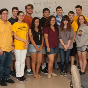 Photo of students in the filmmaking program of the Pre-College Experience 2016.