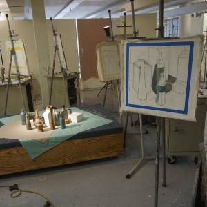 Center for Art & Design Painting Studio