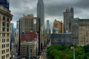 Matthew Ramirez '16 view from internship office in NYC