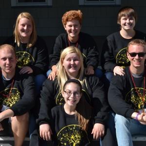 Student Association 2015-2016 board.
