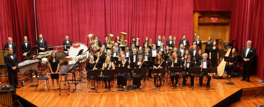 """Congratulations to The College of Saint Rose Wind Ensemble for being selected to perform at the 2016 New York State School Music Association Winter Conference. The performance will take place during the ""Concert Hour"" Saturday December 3 at 9:30 am at The Rochester Riverside Convention Center in Rochester, NY."""