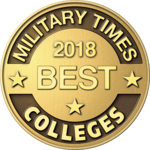 Military Times Best Veteran Colleges Coin
