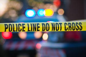police line crime scene tape