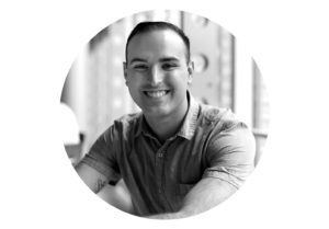 Josh Terry portrait, Saint Rose graduate of 2016 in graphic design