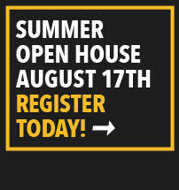 Summer Open House August 17th Register Today