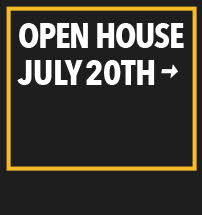 Open House July 20th