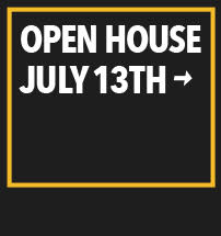Open House July 13th