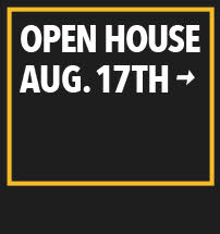 Open House August 17th