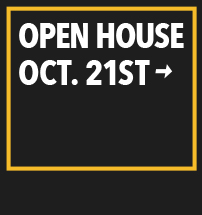 Open House October 21st